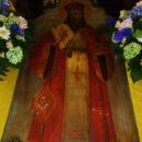 Привезли икону святителя Иоанна Златоуста с частицей его мощей в храм Иверской иконы Божией Матери Спасского монастыря.
